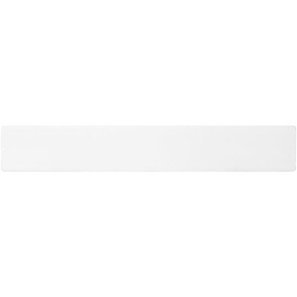 Ellison 30 cm plastic insert ruler - White