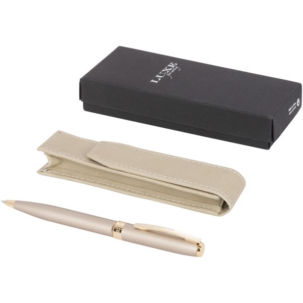 Pearl pen gift set with pouch