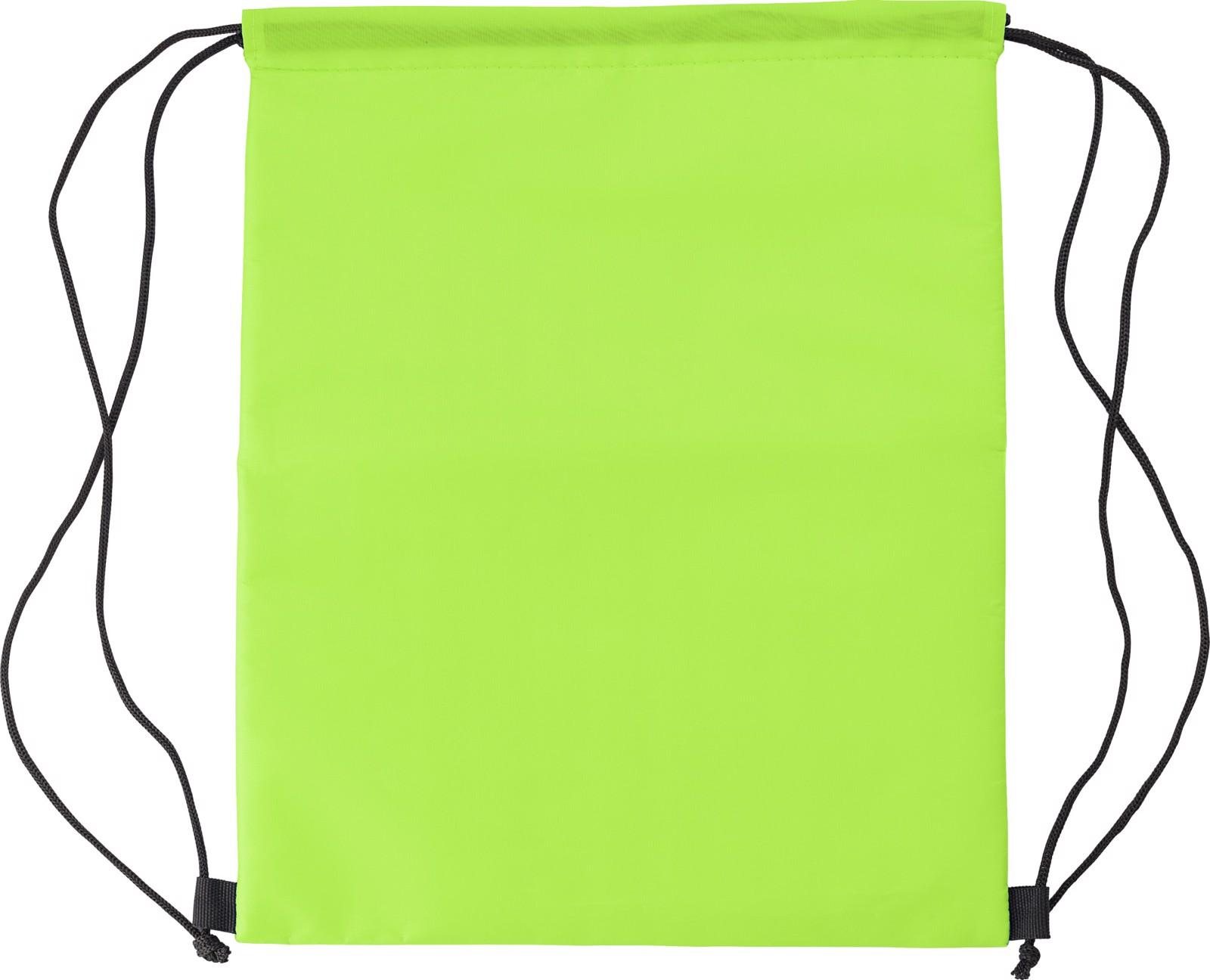 Polyester (210D) cooler bag - Lime