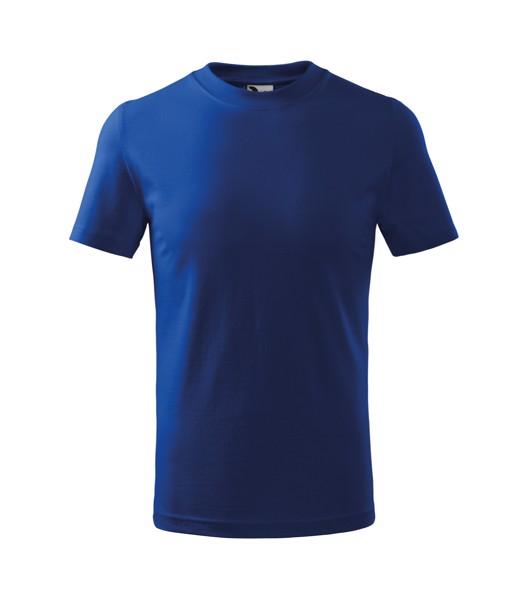 Tričko dětské Malfini Basic - Královská Modrá / 110 cm/4 roky