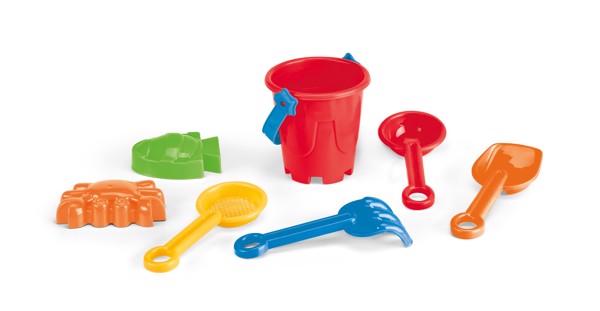 ALDAN. Beach bucket - Red