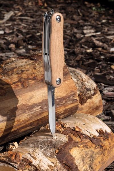 Dřevěný kapesní nůž