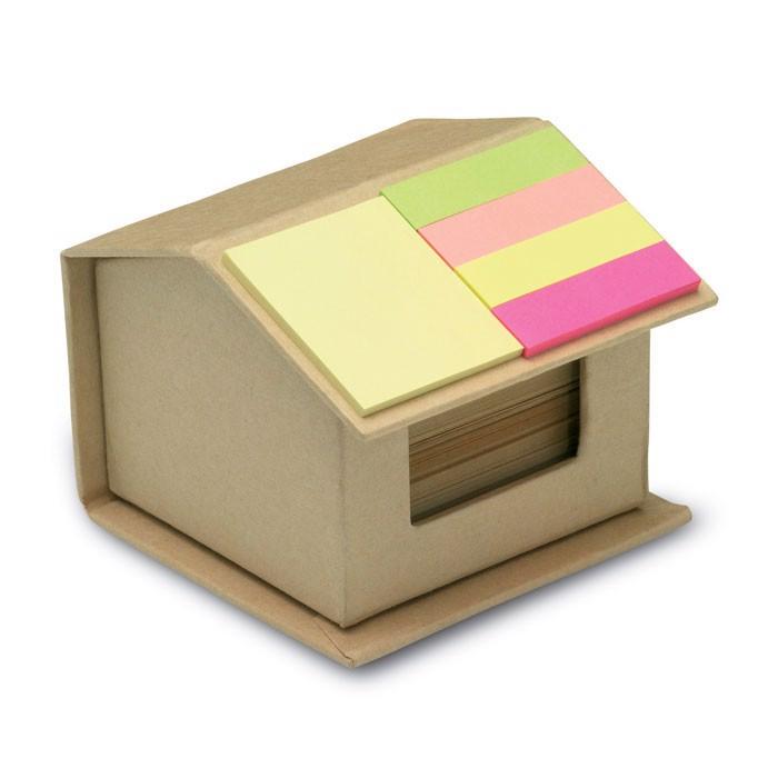 Karteczki z surowców wtórnych Recyclopad