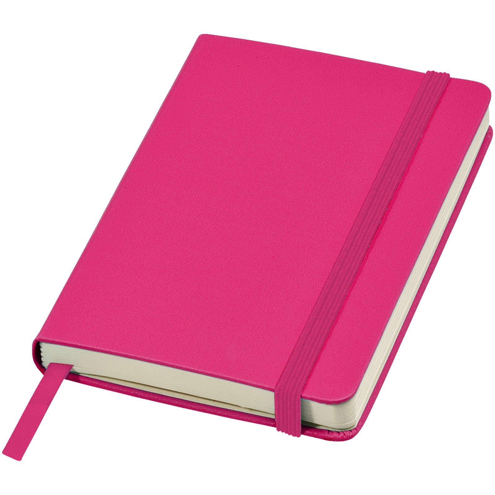 Classic A6 hard cover pocket notebook - Magenta