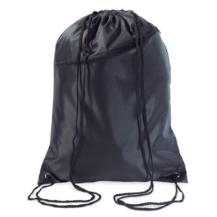 Large drawstring bag Bigshoop - Black