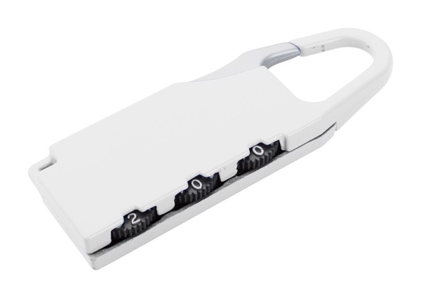 Luggage Lock Zanex - White