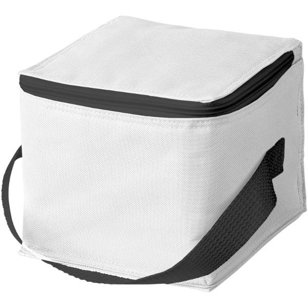 Tromso 4-can cooler bag - White