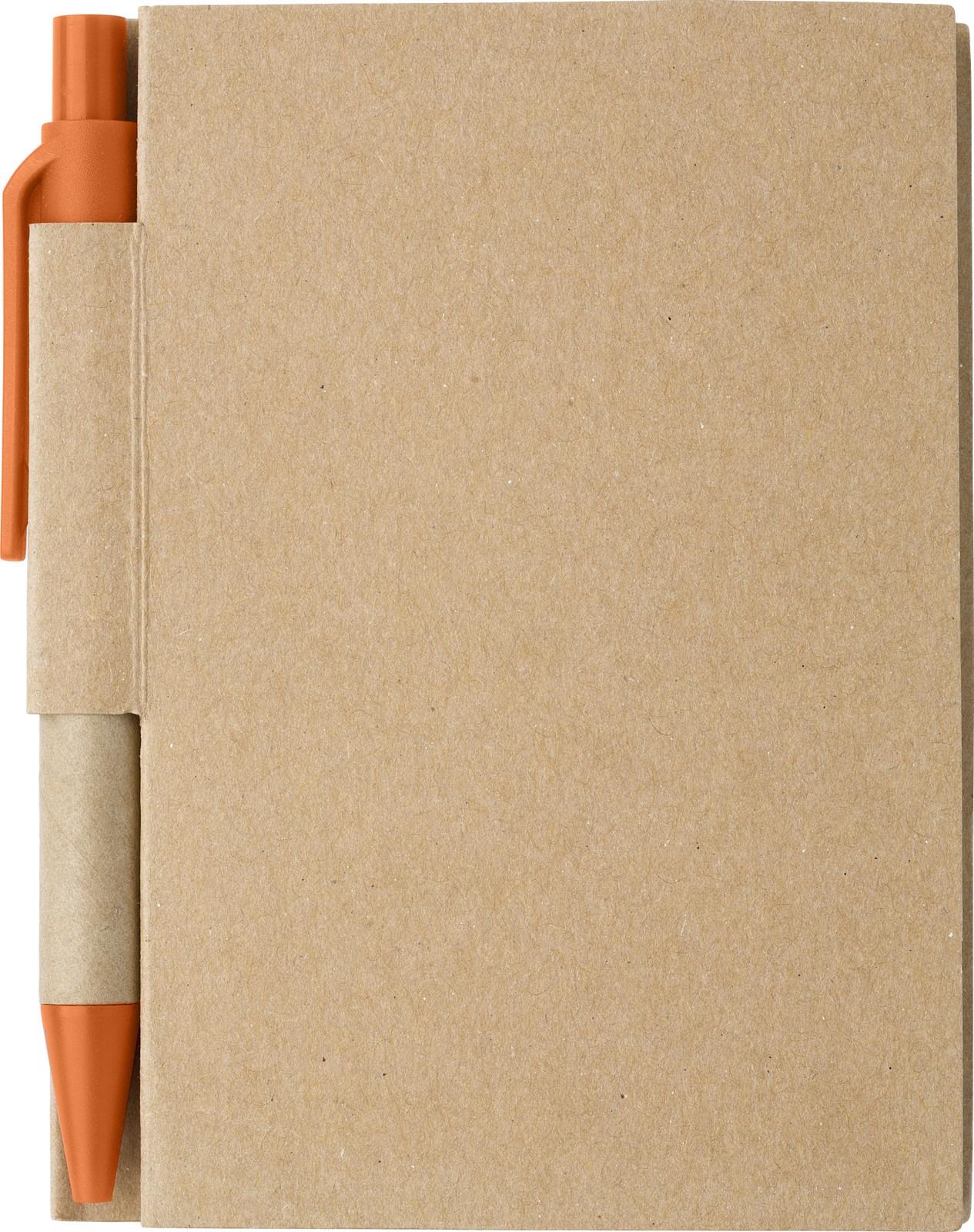 Paper notebook - Orange