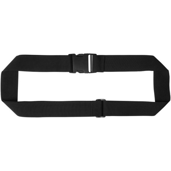 Saul suitcase strap - Solid black