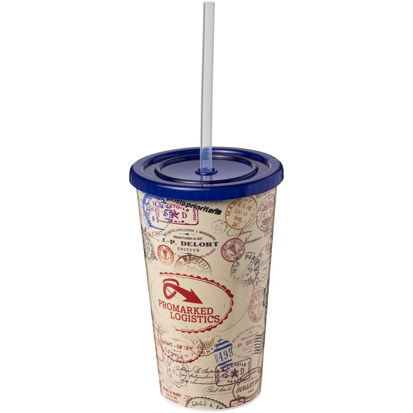 Dvouplášťový kelímek Brite-Americano® 350 ml - Modrá