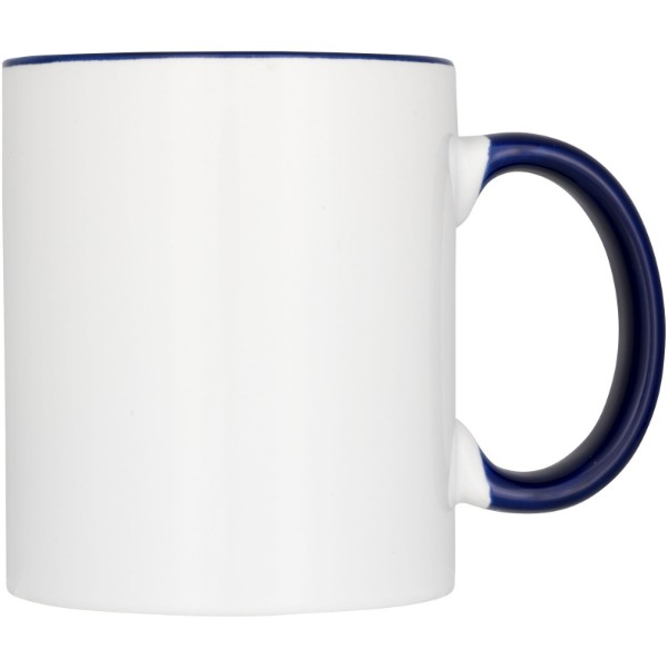 Ceramic sublimation mug 4-pieces gift set - Blue