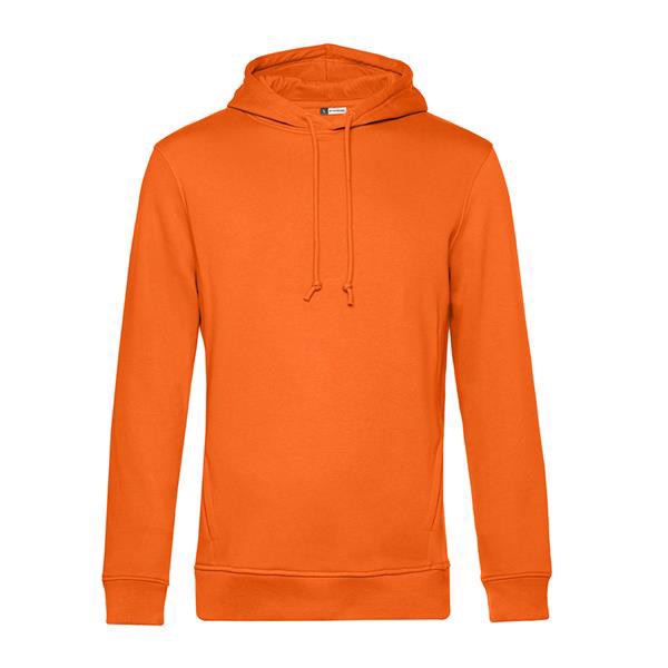 Organic Hooded - Pure Orange / S