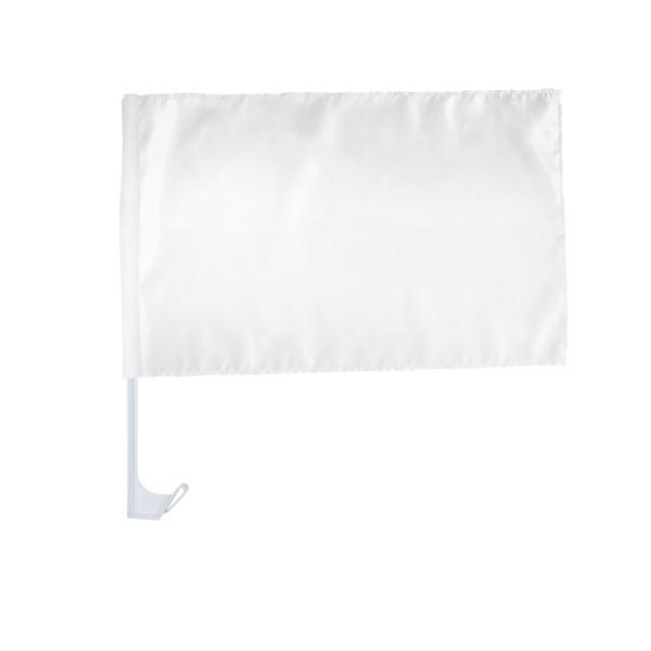 "Car Flag ""Bianco"""