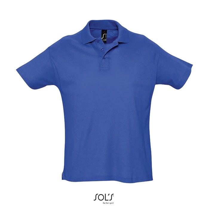 SUMMER II POLO HOMBRE 170g - Azul Royal / XXL