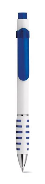 AISHA. Esferográfica com clipe - Azul Royal