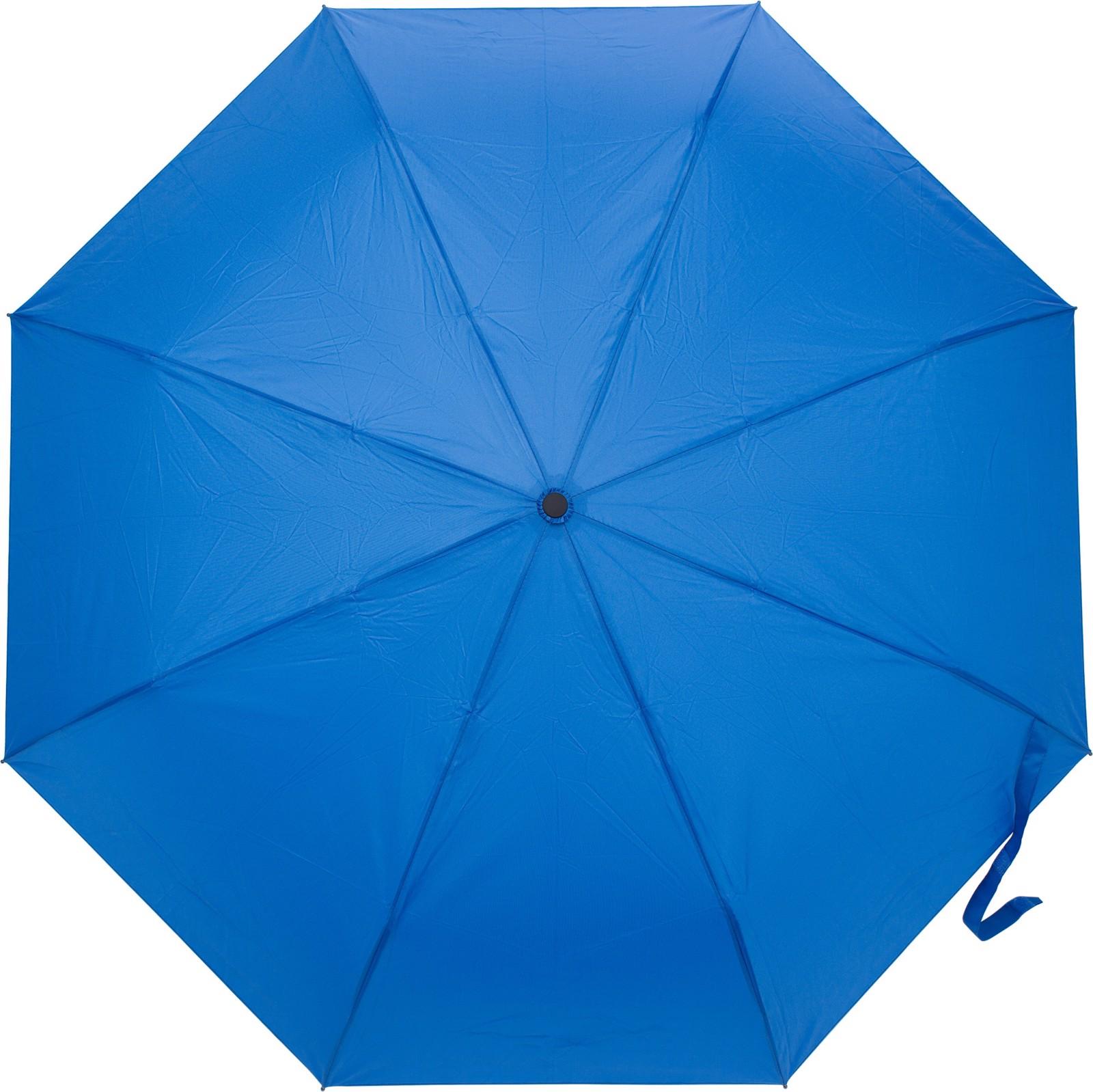 Pongee (190T) umbrella - Blue