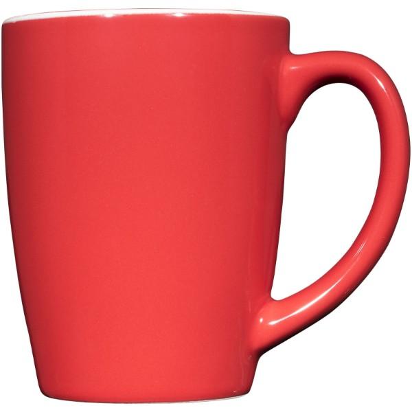 Mendi 350 ml Keramiktasse - Rot