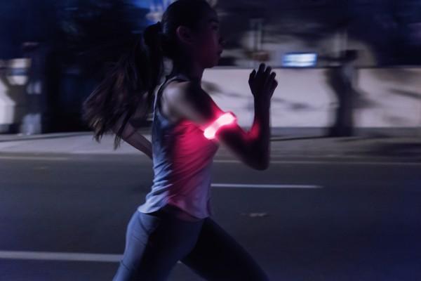 Bezpečnostní LED pásek - Červená