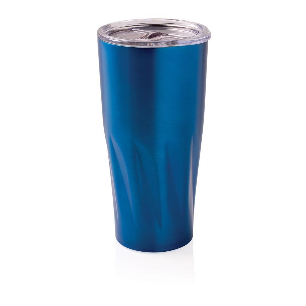 Termohrnek s vakuovo měděnou izolací - Modrá