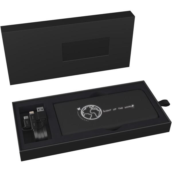 SCX.design P17 5000 mAh light-up powerbank