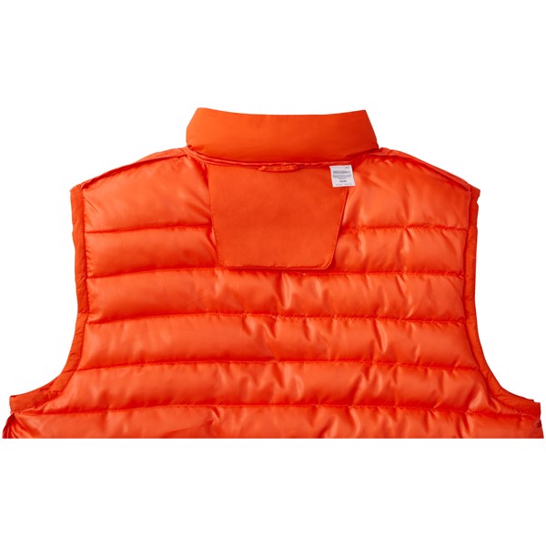 Pallas men's insulated bodywarmer - Orange / XS