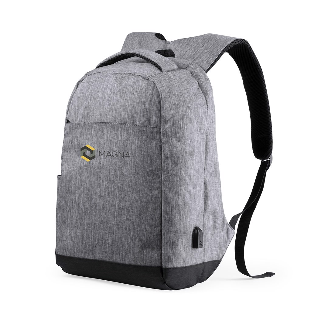 Anti-Theft Backpack Vectom - Grey