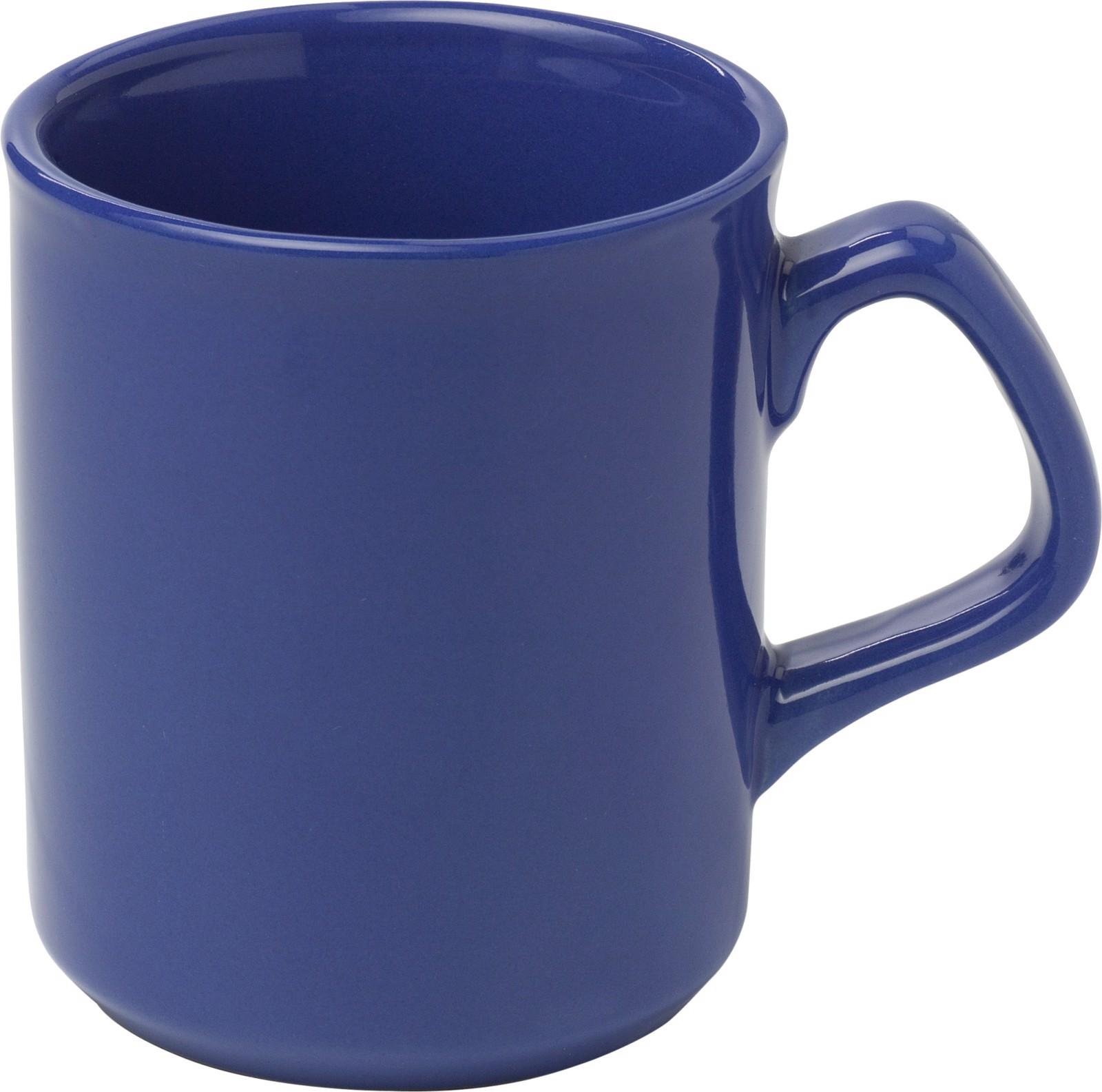 Porcelain mug - Blue