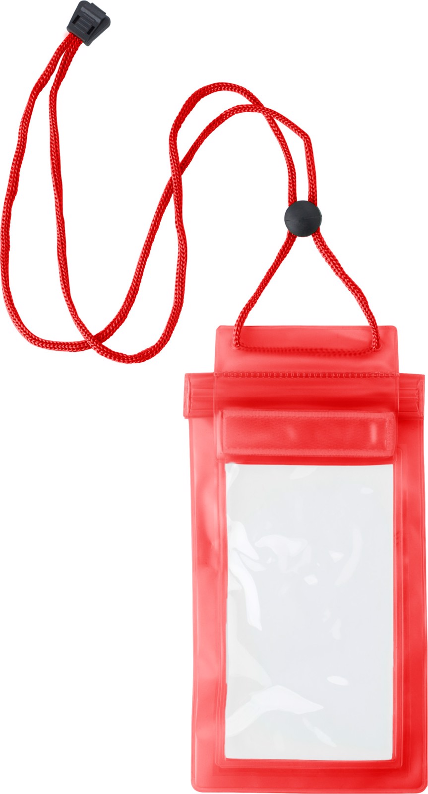 PVC pouch for mobile devices - Red