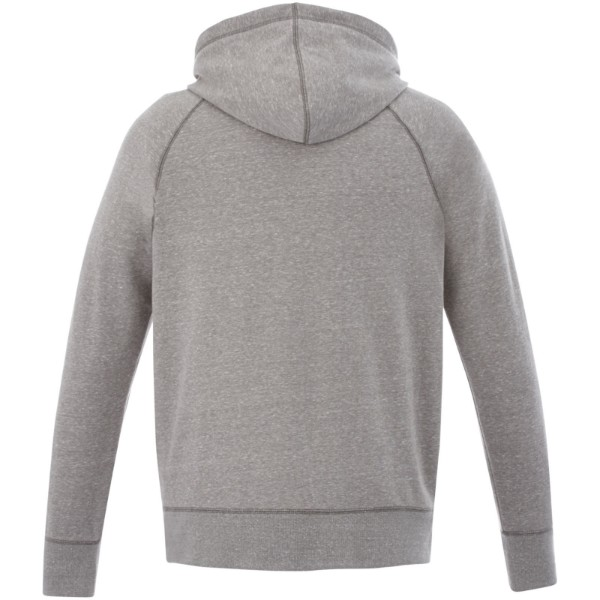 Groundie full zip hoodie - Grey melange / S
