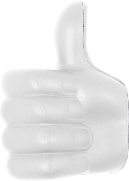 PU foam thumbs-up - White