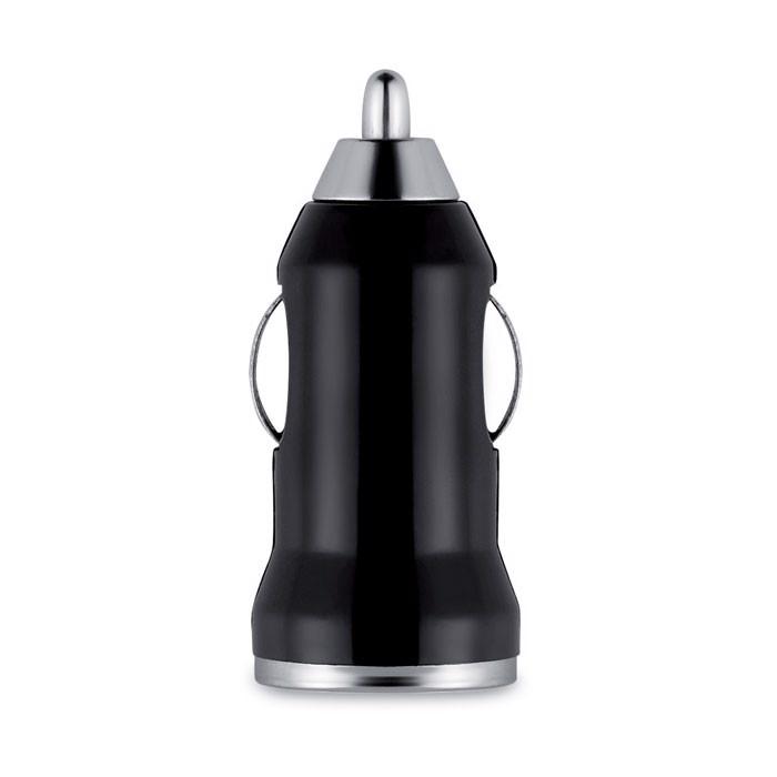 Ładowarka USB do samochodu Mobicar - czarny