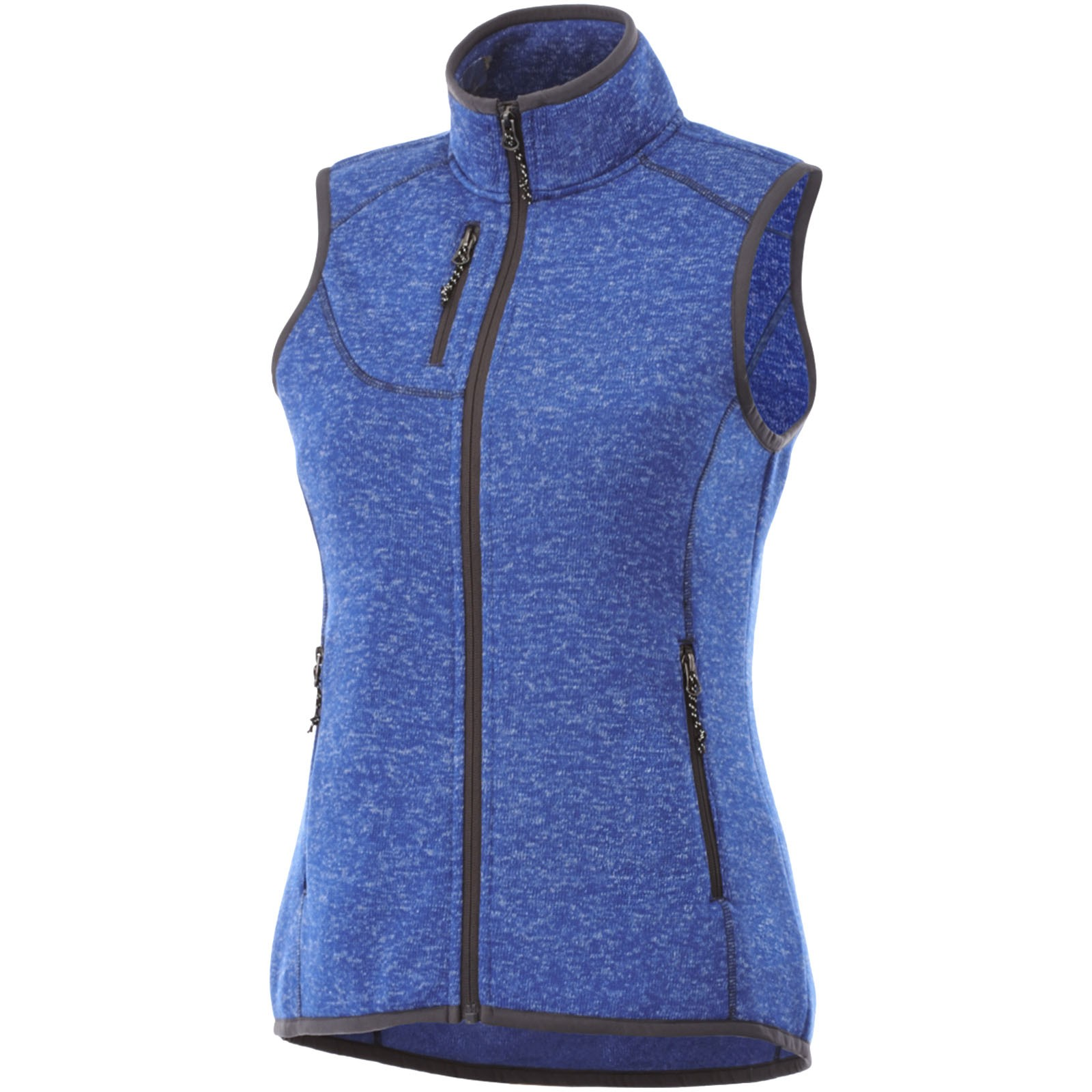Tkaná dámská vesta Fontaine - Heather modrá / M