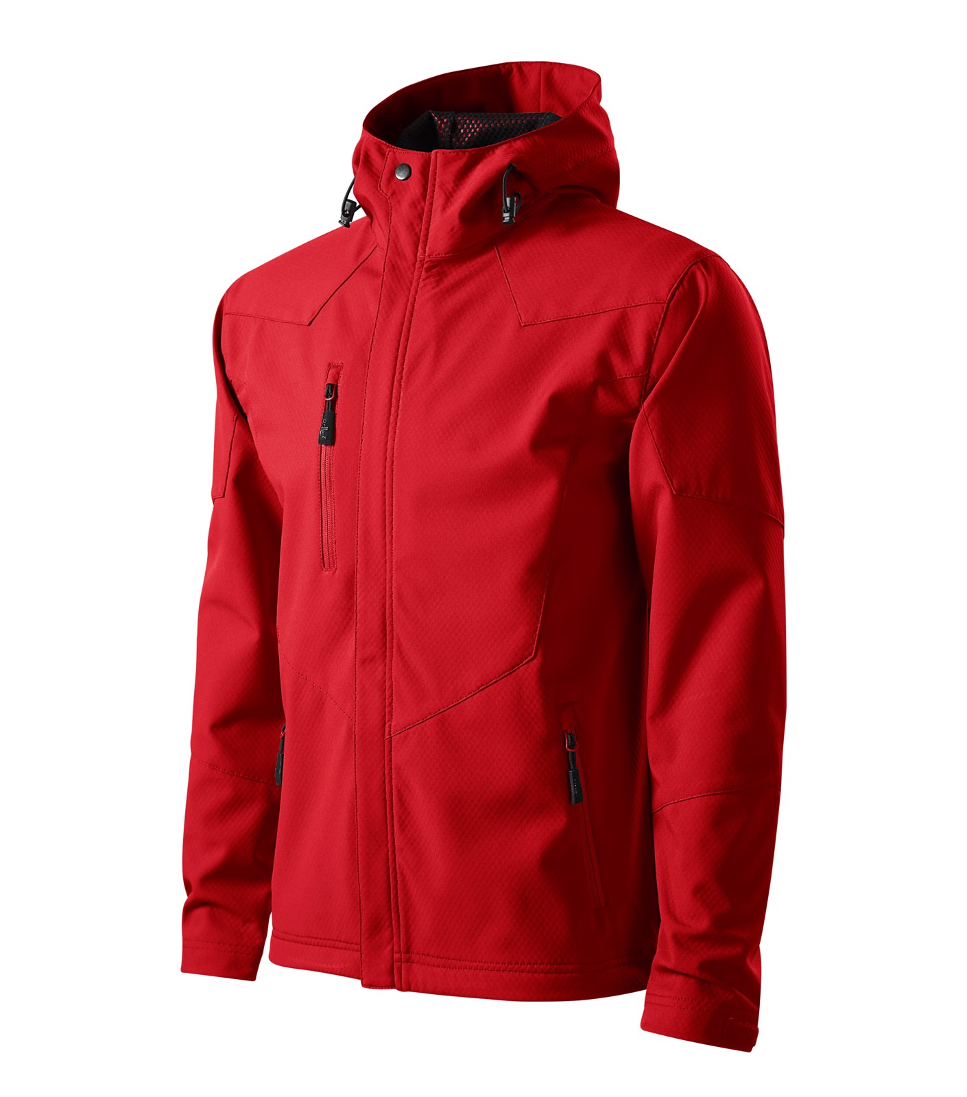 Softshellová bunda pánská Malfini Nano - Červená / 2XL