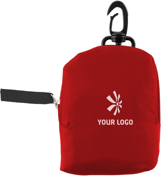 Polyester (190T) shopping bag - White