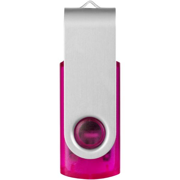 USB disk Rotate-translucent, 2 GB - Magenta