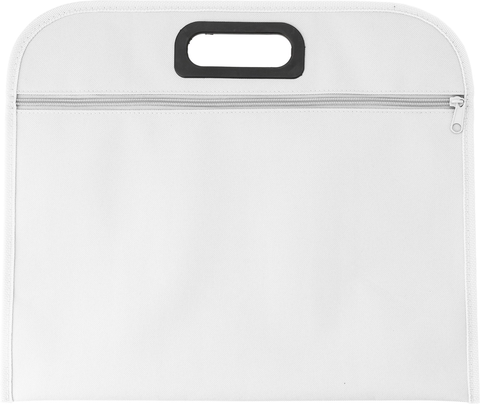 Polyester (600D) conference bag - White