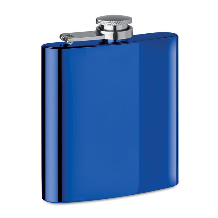 Slim hip flask 175ml Slimmy Flask + - Royal Blue