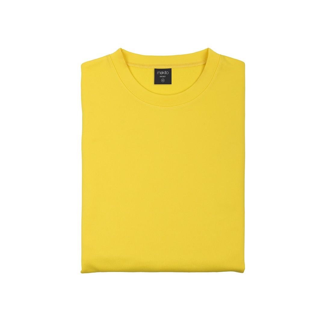 Sudadera Técnica Adulto Kroby - Amarillo / XL
