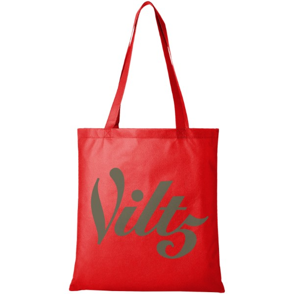 Zeus large non-woven convention tote bag - Red