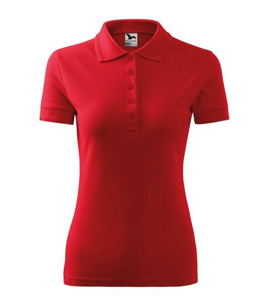 Polo Shirt Ladies Malfini Pique Polo - Red / XL