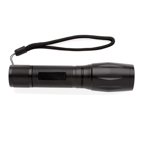 10W CREE LED svítilna s COB světlem - Černá