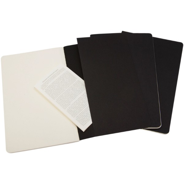 Cahier Journal PK - plain - Solid black