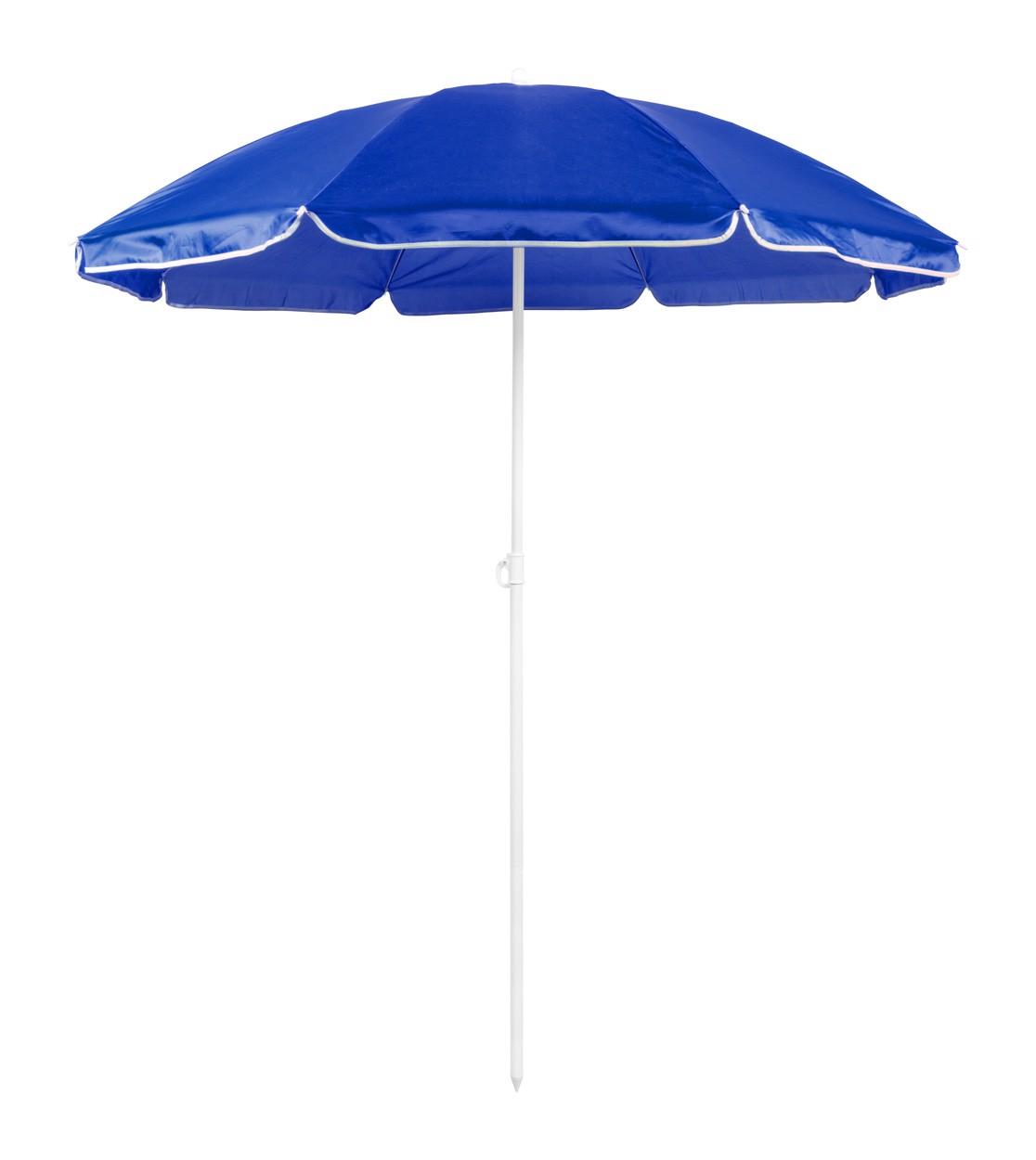 Umbrela De Plaja Mojacar - Albastru / Alb
