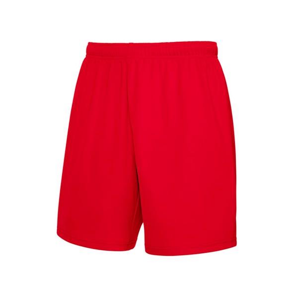 Unisex Spodnie sportowa Performance Short 64-042-0 - Czerwony / S