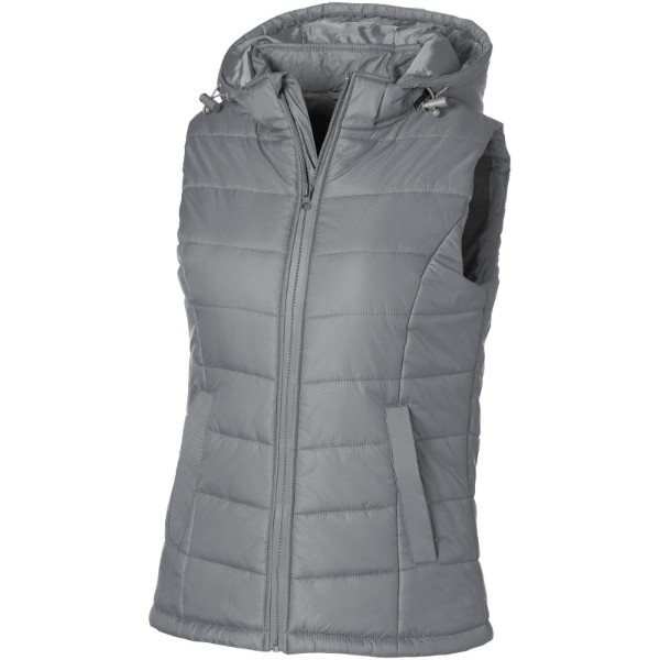 Mixed Doubles ladies bodywarmer - Grey / M