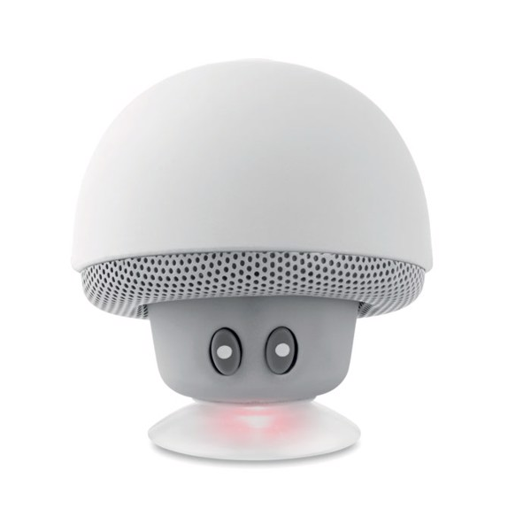 Mushroom 3W Bluetooth speaker - White