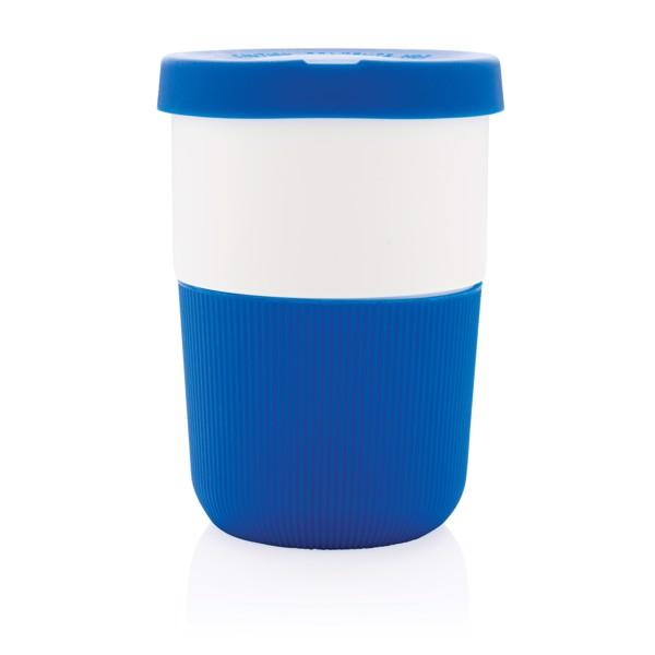 PLA hrnek coffee to go 380ml - Modrá