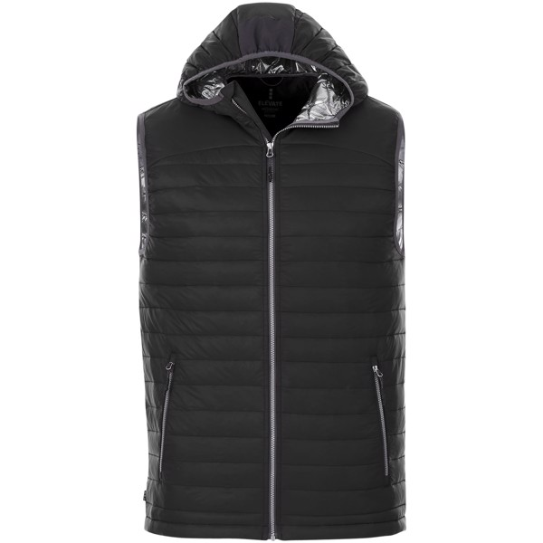 Junction men's insulated bodywarmer - Solid black / XS