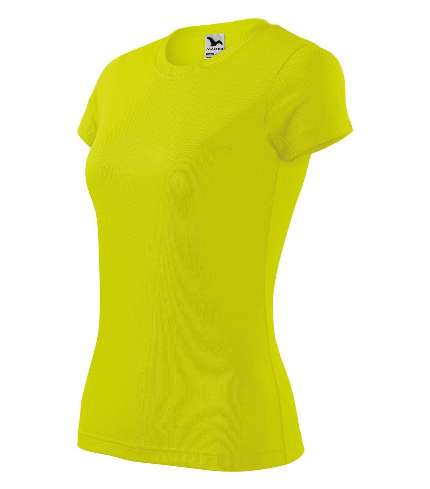 Tričko dámské Malfini Fantasy - Neon Yellow / 2XL