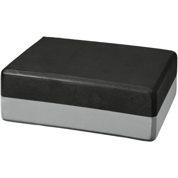 Lahiri yoga block - Grey / Solid Black